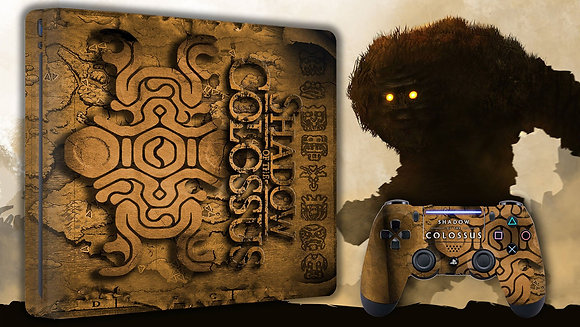 SKIN PS4 SHADOW OF THE COLOSSUS