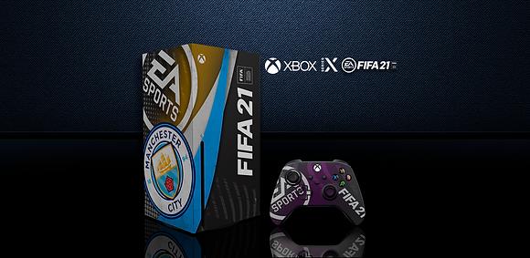 SKIN XBOX SERIES X FIFA 21