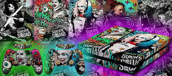 SKIN PS4 SUICIDE SQUAD