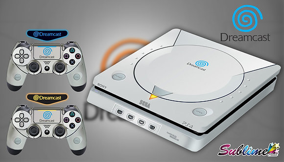 SKIN PS4 DREAMCAST