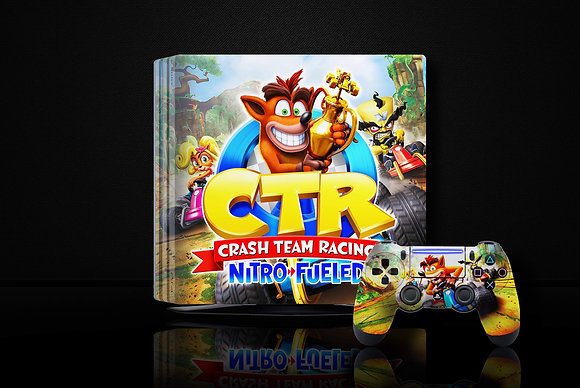 SKIN PS4 CRASH TEAM RACING