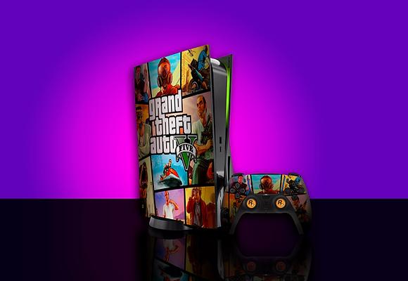 SKIN PS5 GTA V