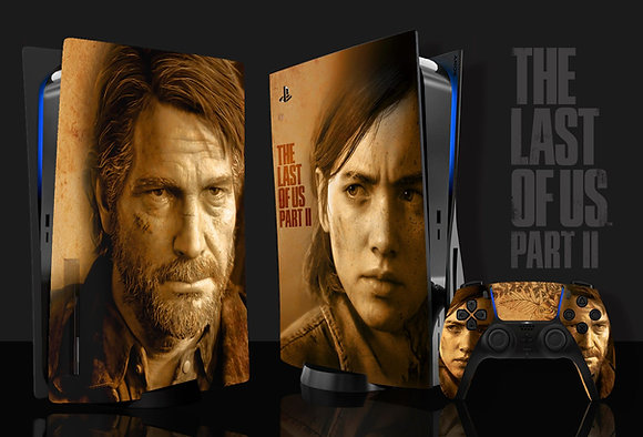 Skin PS5 The Last of US 2