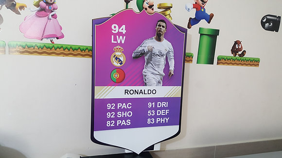 FIFA CARD CR7