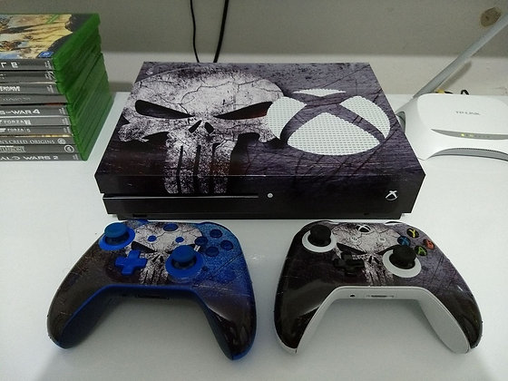 SKIN XBOX ONE S THE PUNISHER