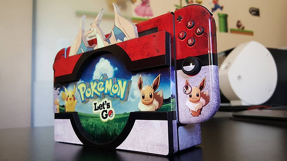 SKIN 3D POKÉMON Let's Go Nintendo Switch
