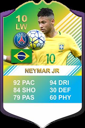 FIFA CARD NEYMAR