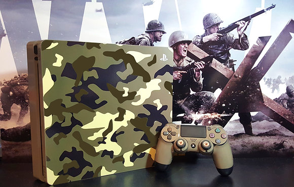 SKIN PS4 FAT COD WW2 BUNDLE