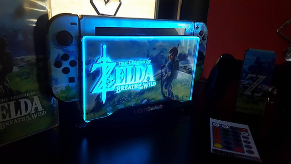 LIGHTSHIELD ZELDA BOTW NINTENDO SWITCH