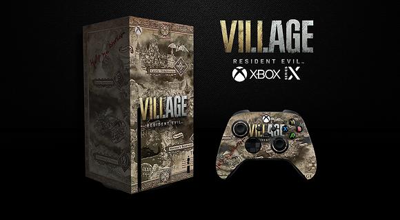 SKIN XBOX SERIES X Resident  Evil VILLAGE