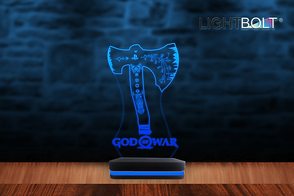 LIGHTBOLT® KRATOS AXE + LOGO