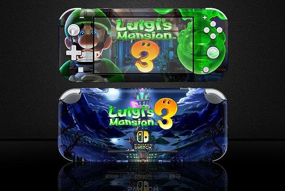 SKIN Nintendo Switch Lite Luigi's Mansion 3