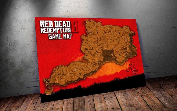 QUADRO RDR2 GAME MAP