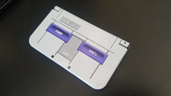 SKIN NEW 3DS XL SUPER NES