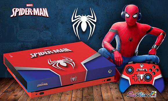 SKIN XBOX ONE X SPIDER MAN
