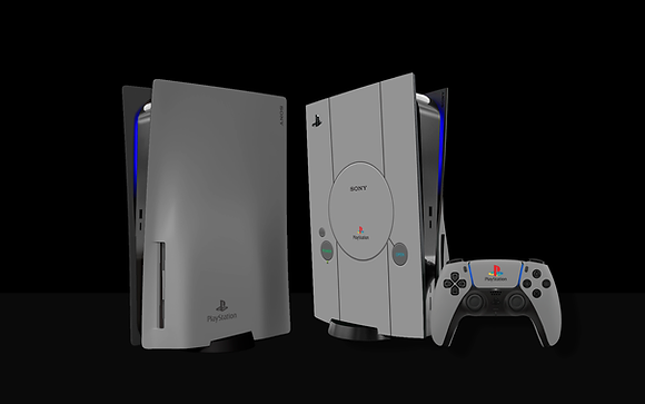 Skin PS5 PS1