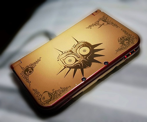 SKIN NEW 3DS XL ZELDA EDITION