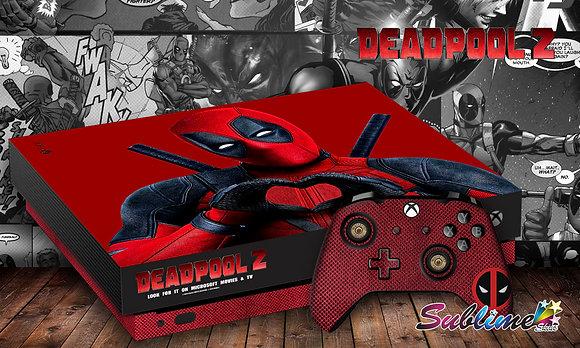 SKIN XBOX ONE X DEADPOOL 2