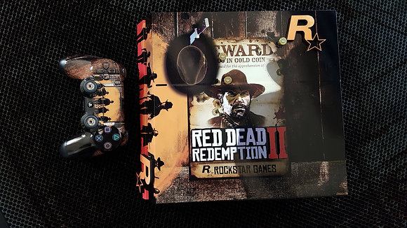SKIN PS4 Red Dead Redemption 2 3D