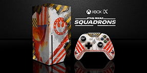 one X series STAR WARS SQUADRONSs capa s