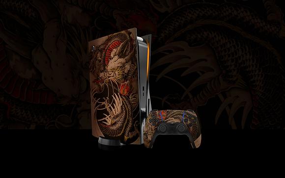 Skin PS5 Old Dragon