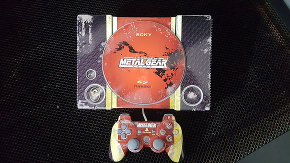 SKIN PLAYSTATION 1 METAL GEAR