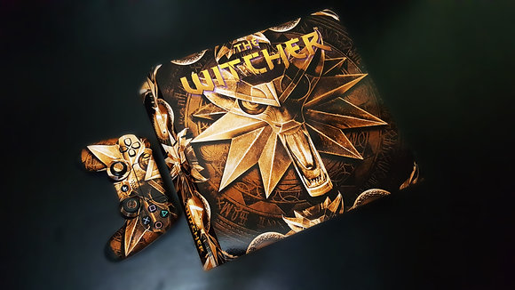SKIN PS4 THE WITCHER SUBLIME