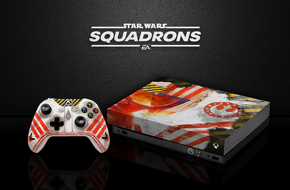 SKIN XBOX ONE STAR WARS SQUADRONS