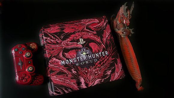 SKIN PS4 MONSTER HUNTER DRAGON