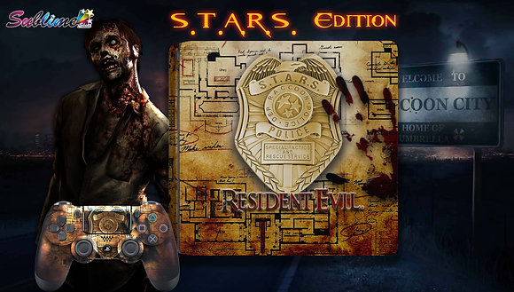 SKIN PS4 RESIDENT EVIL S.T.A.R.S.