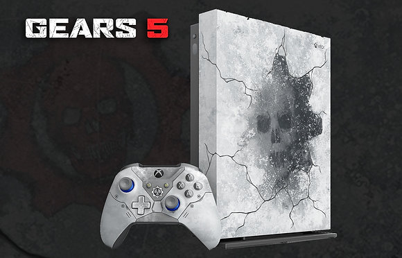 SKIN XBOX ONE X GEARS 5 SPECIAL EDITION