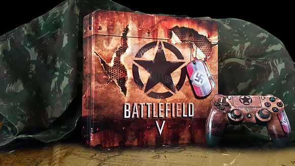 SKIN PS4 BATTLEFIELD V