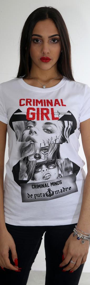 de puta madre criminal life tshirt