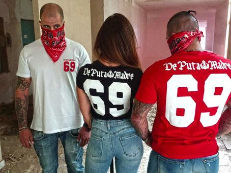 De Puta Madre 69 Streetwear Made in Italy