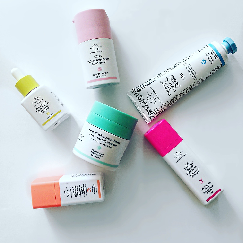 A picture of Drunk Elephant Skincare products