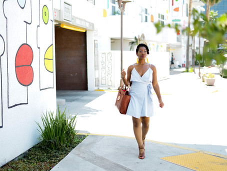 A Classic Summer Dress | What to Wear In Your 30's