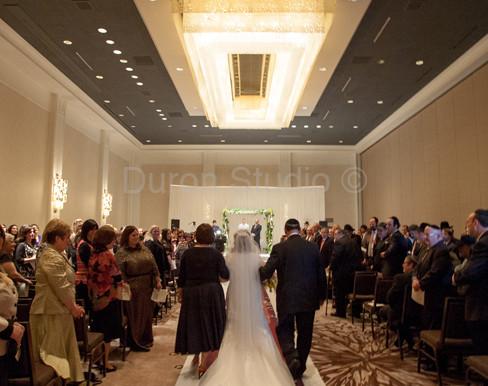 Wedding Inspiration – Ombré Aisle Runner
