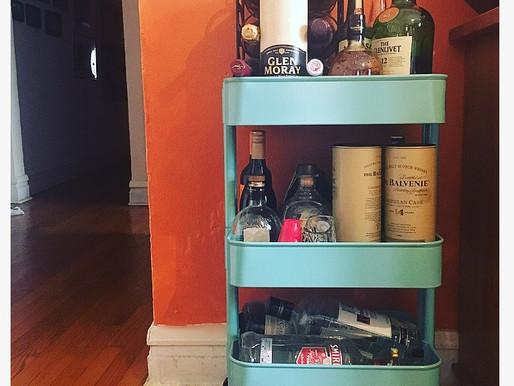 Home Decor Inspo - Bar Cart