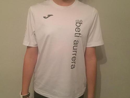 Camiseta Beti Aurrera blanca