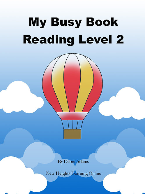 Busy Book Level 2