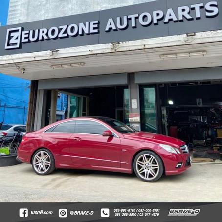 Mercedes-Benz W207 E-Coupe W207 ติดตั้ง Canceller (กล่องหลอกสำหรับมีรถมีโช้คไฟฟ้าเดิม)