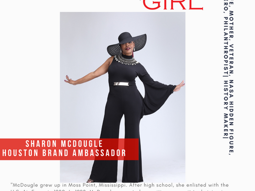 That Girl Sharon McDougle accepts Hidden Figure Ambassadorship!