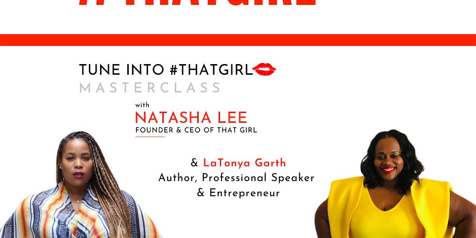 Masterclass: Latonya Garth - Mentorship and Leadership