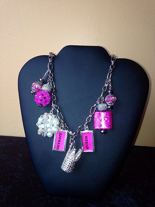 Detroit Queen Necklace