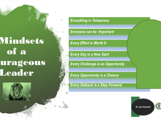 7 Mindsets of A Courageous Leader