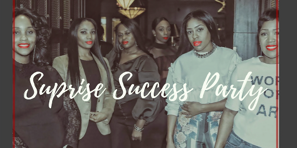 THAT Girl Surprise Success Party