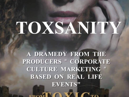 CORPORATE CULTURE FILMED FIRST PILOT EPISODE OF NEW SERIES TOXSANITY!