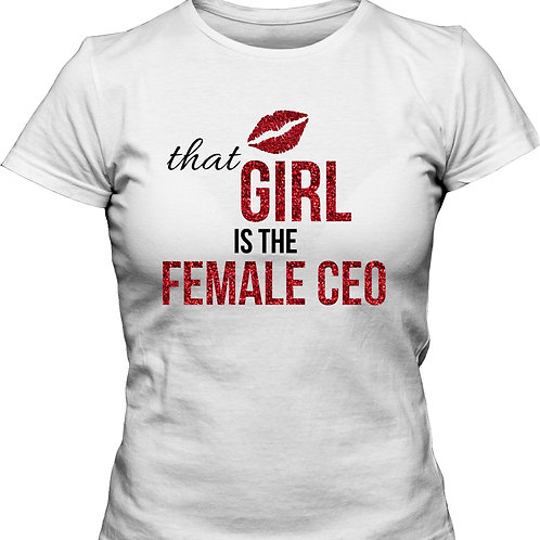 That Girl is the Female CEO