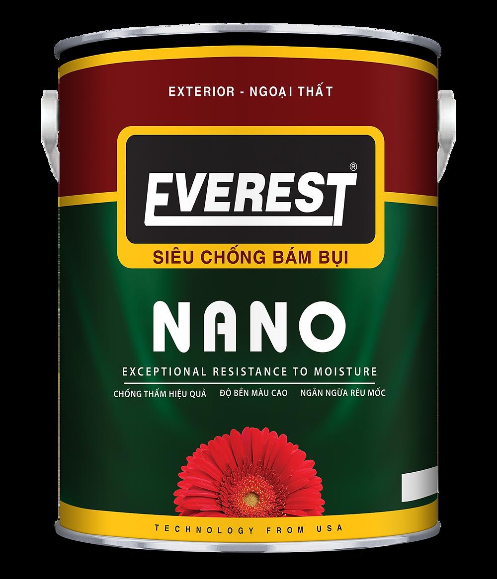 Sơn ngoại thất NANO - loại 5L
