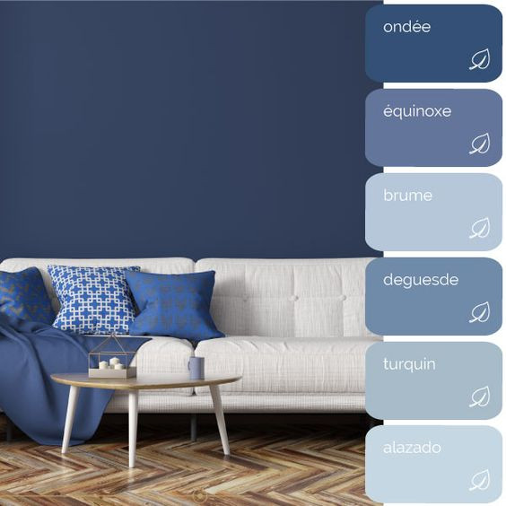 Có thể chọn màu nhạt hơn hoặc đậm hơn màu xanh cổ điển cho phù hợp với sở thích của bạn
